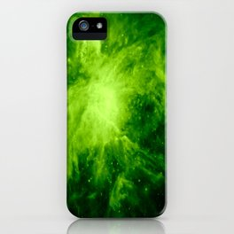Orion Nebula : Green iPhone Case