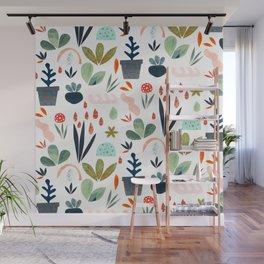 miniature garden Wall Mural