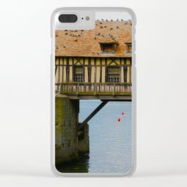 The Old Mill Vernon France Travel Clear iPhone Case