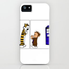 The Doctor Says Goodbye - Separated  iPhone Case