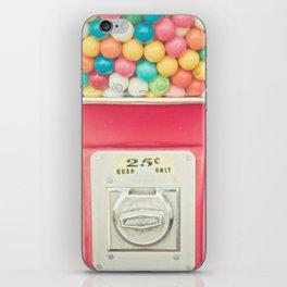 Rainbow Bubblegum iPhone Skin