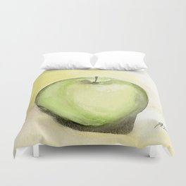 Granny Smith Duvet Cover