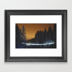 Capilano Suspension Bridge Framed Art Print