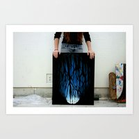feet Art Prints featuring Feet by kim karr