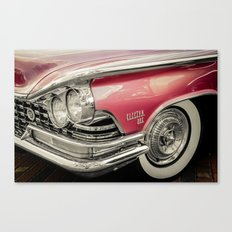 Pink Buick Electra 225 Car Canvas Print