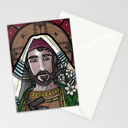 Joseph the Worker Stationery Cards