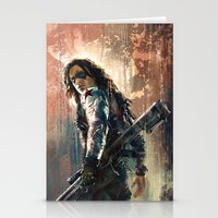 bucky Stationery Cards featuring Bucky by Wisesnail