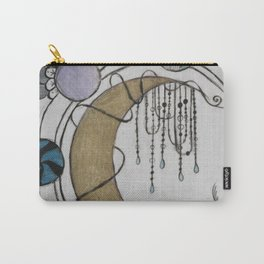 Trippy Moonlight Carry-All Pouch