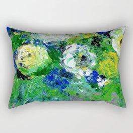 Abstract Floral - Botanical Rectangular Pillow
