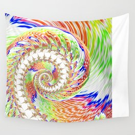 A Twist Of Colour Wall Tapestry