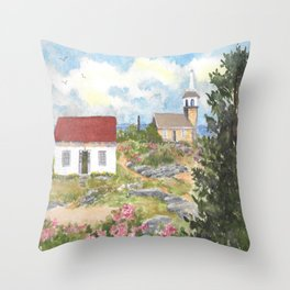 Star Island-Room With A View Throw Pillow