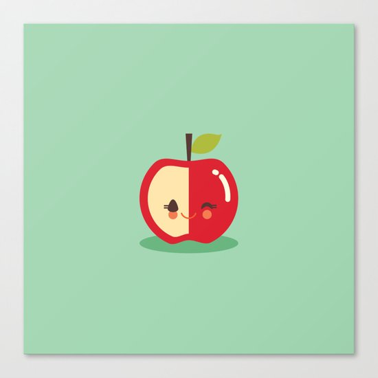 Lil' Apple Canvas Print