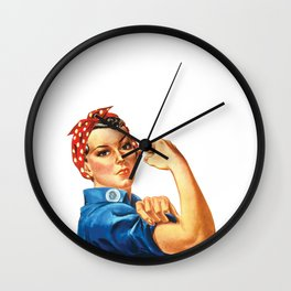 Union Strong and Solidarity  Wall Clock