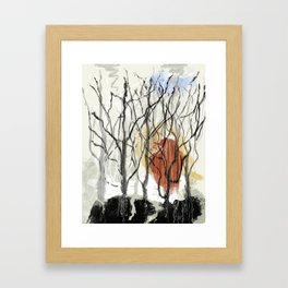 Dreams of a Dying Forest Framed Art Print