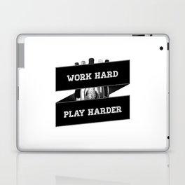 Work Hard, Play Harder Laptop & iPad Skin
