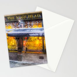 The Nags Head Pub Covent Garden London Stationery Cards