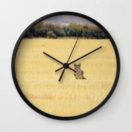Canidae Wall Clock