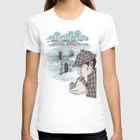 221b T-shirts featuring 221B Baker Street by enerjax
