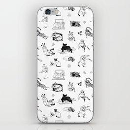 Cat Things iPhone Skin