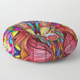 The Joy of Living Colors Floor Pillow