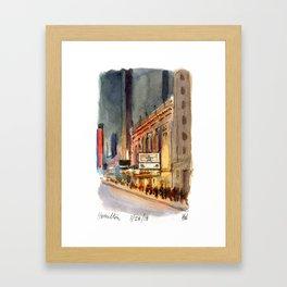 Richard Rogers - Hamilton Marquee Framed Art Print
