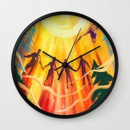 Raise Your Vibration Wall Clock