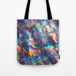 TOUCHING FROM A DISTANCE Tote Bag