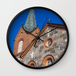Finland, juva, church Wall Clock