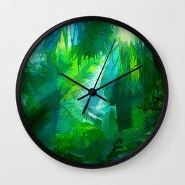 Jungled 2 Wall Clock