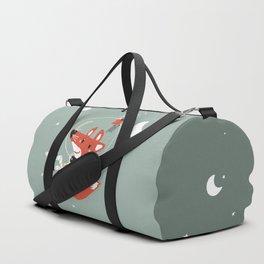 Space Fox Duffle Bag