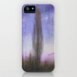 Ultra Violet Sunset iPhone Case
