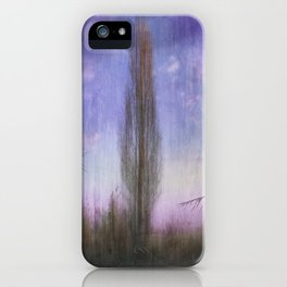 Ultra Violet Sunset iPhone Case