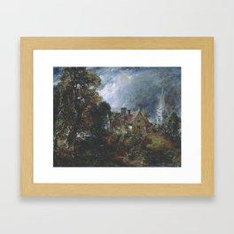 John Constable 1776–1837   The Glebe Farm 2 Framed Art Print