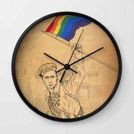 Putin Propaganda Wall Clock