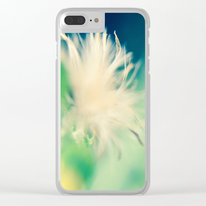 Whimsical Petals Clear iPhone Case