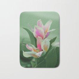 Vintage tulips (8) Bath Mat