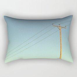 She's Electric Rectangular Pillow