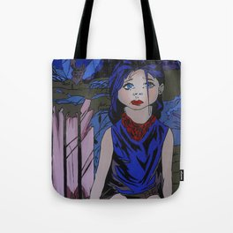 Darkest night Tote Bag