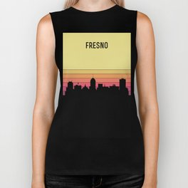 Fresno Skyline Biker Tank