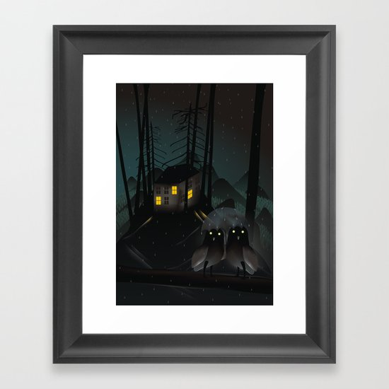Outsiders Framed Art Print