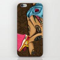 mcfreshcreates iPhone & iPod Skins featuring Chocolate BubbleGum by McfreshCreates