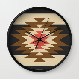 Aztec 1 Wall Clock