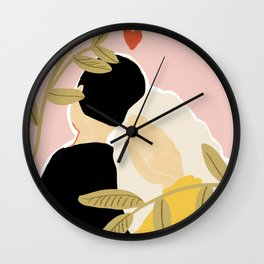 Blind Love II Wall Clock