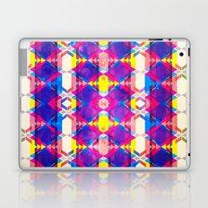 Blue Abstract Diamonate Laptop & iPad Skin