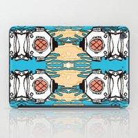 scuba iPad Cases featuring Scuba Squad by Marc Douglas Weiss