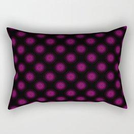 Stain glass Mandala Rectangular Pillow
