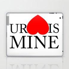 Your Heart/Ass is mine Laptop & iPad Skin