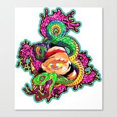 SnakeEyes Canvas Print