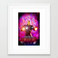 ironman Framed Art Prints featuring Ironman by JT Digital Art