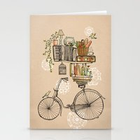 tea Stationery Cards featuring Pleasant Balance by florever